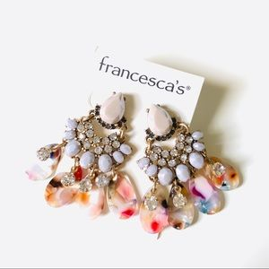 NEW!!! francesca's collection Sparkly Earrings ✨